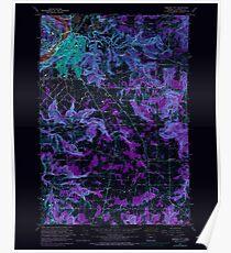 USGS Topo Map Oregon Oregon City 281002 1961 24000 Inverted Poster
