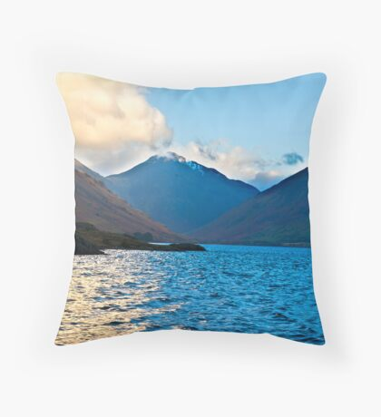 Wasdale Head -Wastwater Throw Pillow