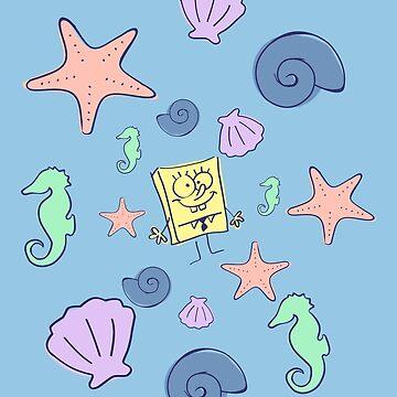 "SpongeBob SquarePants - ""Under the Sea"" Classic Design by sweet-tease"