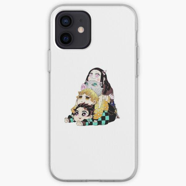 Demon Slayer Gang Cute iPhone Soft Case