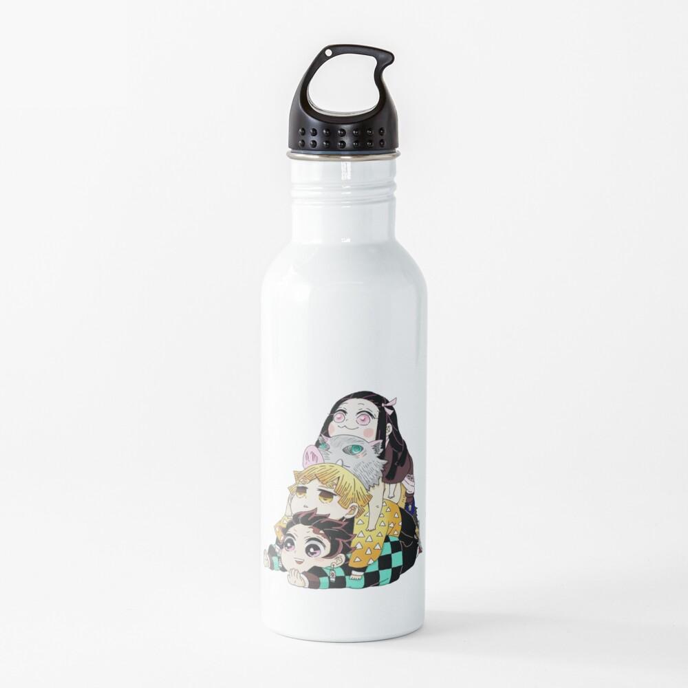 Demon Slayer Gang Cute Water Bottle
