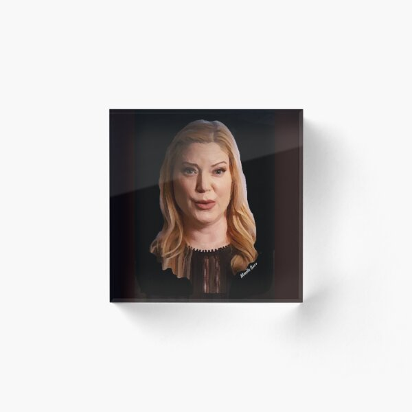 Amy Allan of The Dead Files Show Acrylic Block