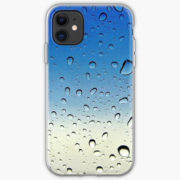 Raindrops keep falling on my head... iPhone Soft Case