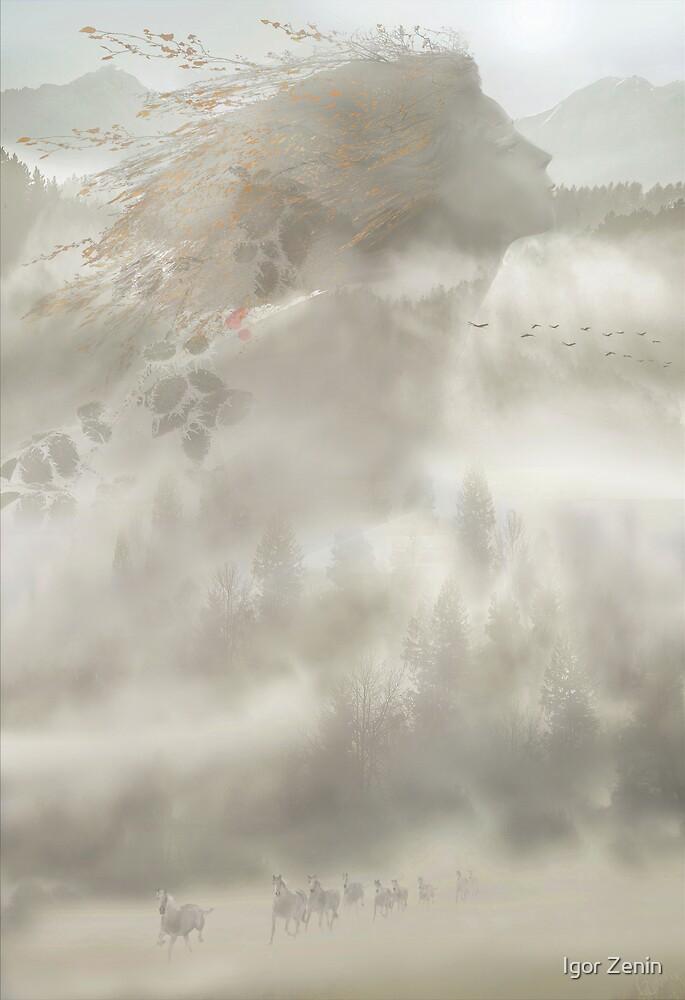 Autumn Exodus by Igor Zenin