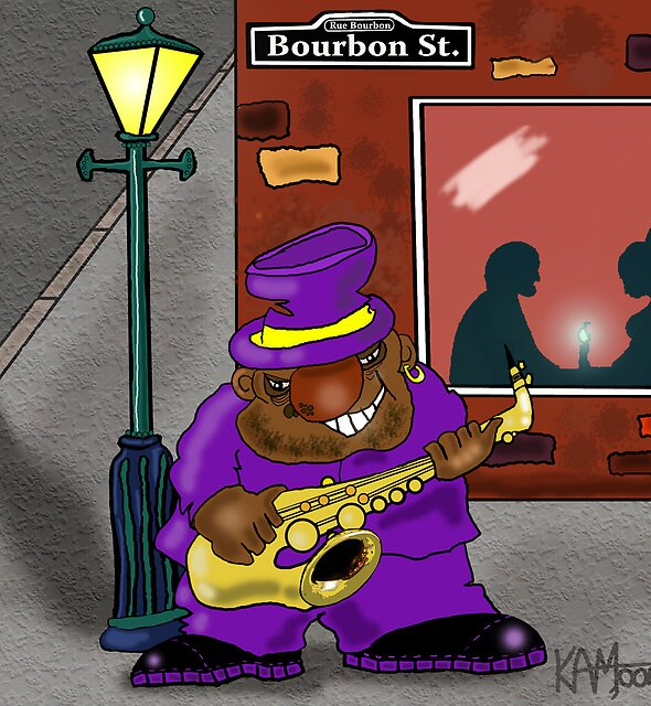 Blowin' on Bourbon by Kev Moore