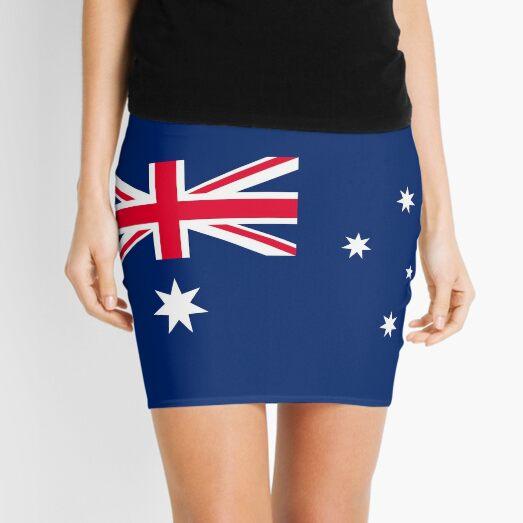 Australian Flag Australia Patriotic Mini Skirt