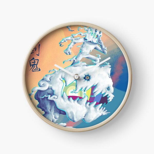 Takashi Murakami-Style Art, KIDS SEE GHOSTS Clock