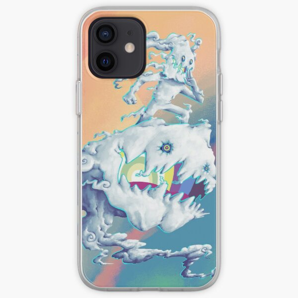 Takashi Murakami-Style Art, KIDS SEE GHOSTS iPhone Soft Case
