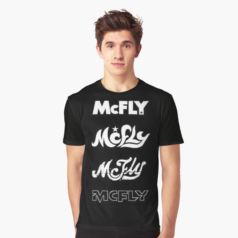 mcfly-logos Graphic T-Shirt