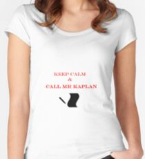 Call Mr Kaplan Women's Fitted Scoop T-Shirt