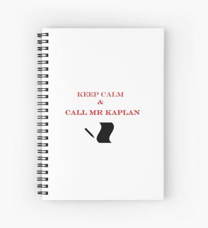 Call Mr Kaplan Spiral Notebook