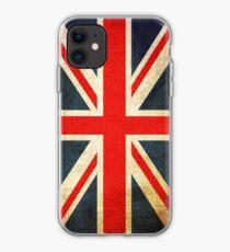 Grunge Effect Union Jack iPhone Case