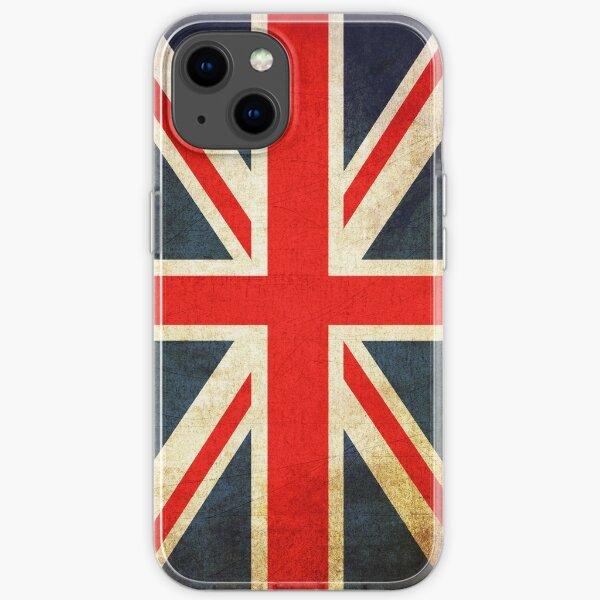 Grunge Effect Union Jack iPhone Soft Case