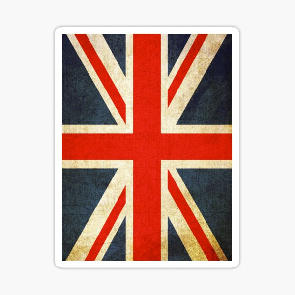 England Flag Weatherproof Sticker Sheet 10 English Flag Stickers