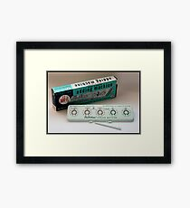 """Sterling """"add-it"""" Dial-a-matic Adding Machine Framed Print"""