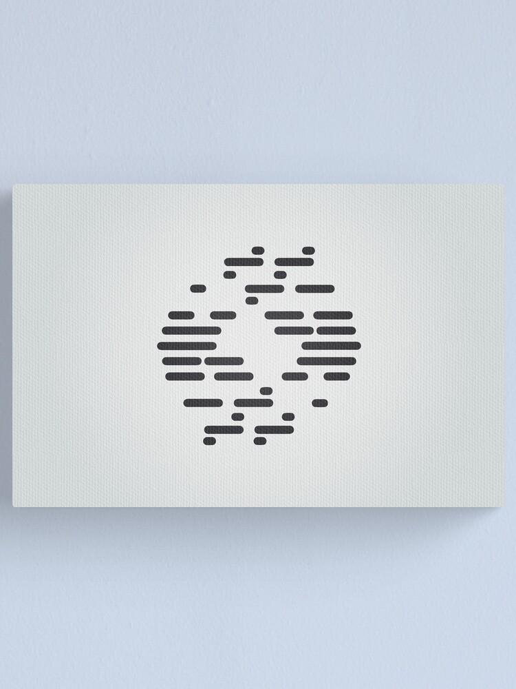 Alternate view of Bureau of Genetic Welfare Logo Canvas Print