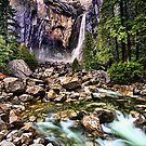 Lower Falls - Yosemite National Park by skphotography