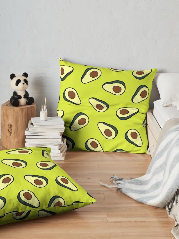 Alternate view of Avocado Pattern Floor Pillow
