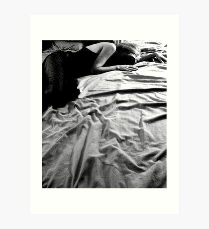 Shadowsleeping Art Print