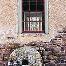The Prallsville Mill Stone by Debra Fedchin