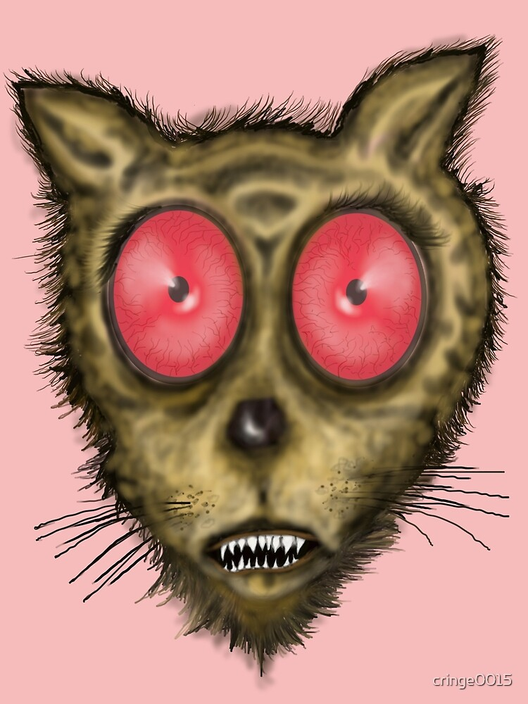 Wide Eyed Cat  by cringe0015