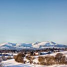 A View To The Pentlands by Lynne Morris