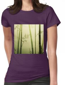 Bamboo 5 Womens Fitted T-Shirt