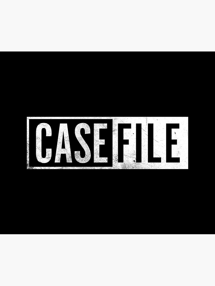 Casefile True Crime – Casefile Logo (Light) by casefile2016
