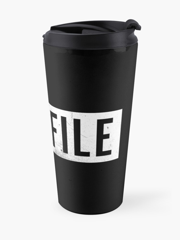 Alternate view of Casefile True Crime – Casefile Logo (Light) Travel Mug