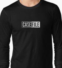 Casefile True Crime – Casefile Logo (Light) Long Sleeve T-Shirt