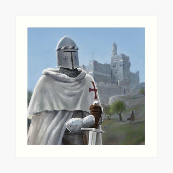 Templar of the Citadel Art Print