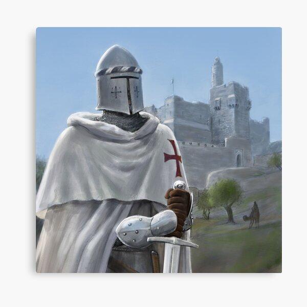 Templar of the Citadel Canvas Print