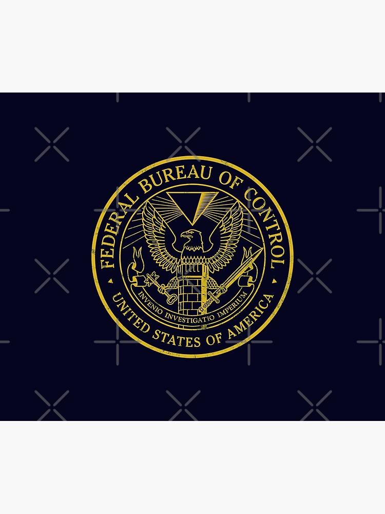 Federal Bureau of Control | Control Game Logo | Distressed Logo by surik-