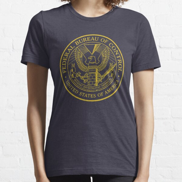 Federal Bureau of Control | Control Game Logo | Distressed Logo Essential T-Shirt