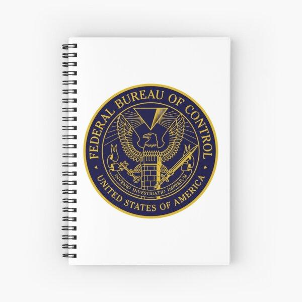 Federal Bureau of Control   Control Game Logo   Clean Logo Spiral Notebook