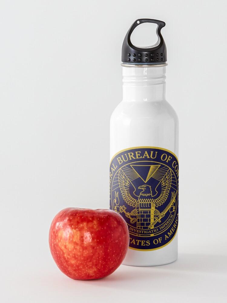 Alternate view of Federal Bureau of Control | Control Game Logo | Clean Logo Water Bottle
