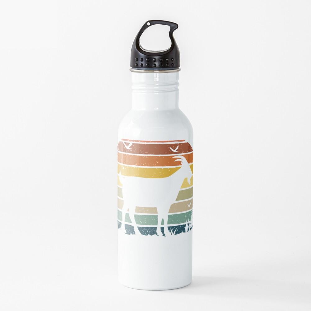Goat Retro Vintage  Water Bottle