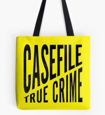 Casefile True Crime – CFTC (Dark) Tote Bag