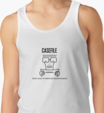 Casefile True Crime – Descendents Tribute (Dark) Tank Top