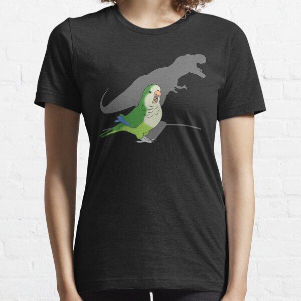 T-rex green monk parakeet Essential T-Shirt