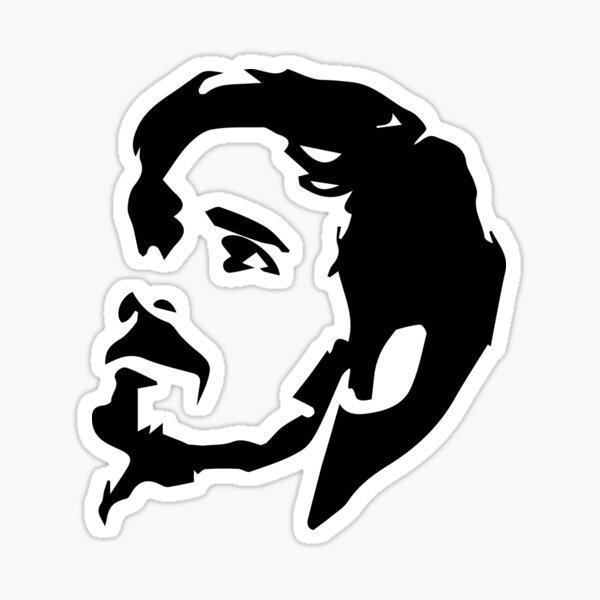 Captain Hook Headshot Sticker