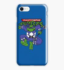 Mighty Morphin Turtles Leonardo Blue Ranger iPhone Case/Skin