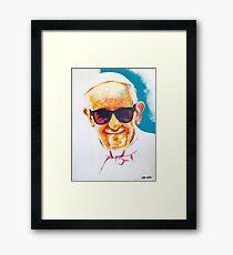 Dope Francis Framed Print