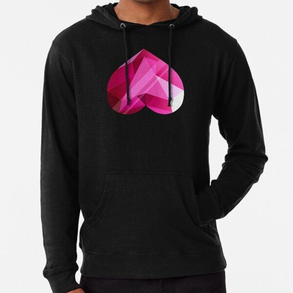 Steven Universe - Spinel Heart Gem 2nd Form - Black Background Lightweight Hoodie