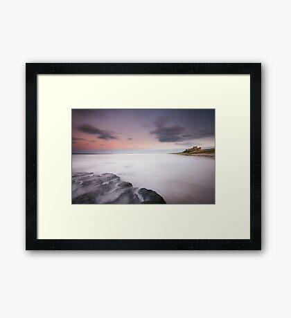 Bamburgh Sunset Framed Print