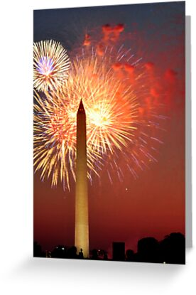 Independence Day on the National Mall by Gronde Photography