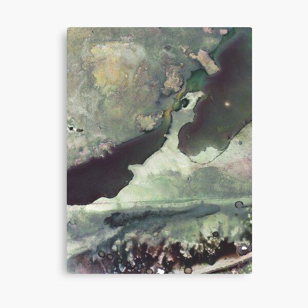 Etude: homage Arvo Part #10 (winter) Canvas Print