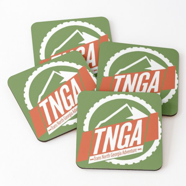 TNGA Elevation Profile Coasters (Set of 4)