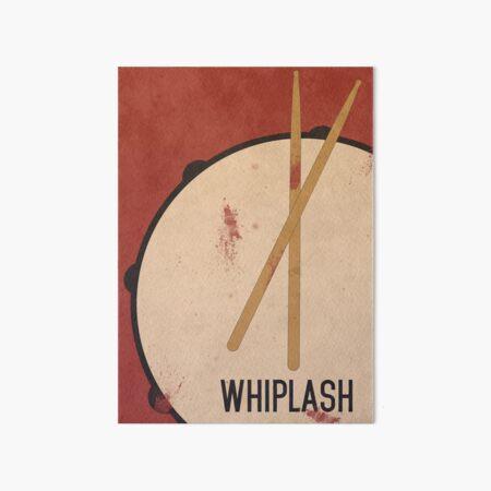 Whiplash Art Board Print