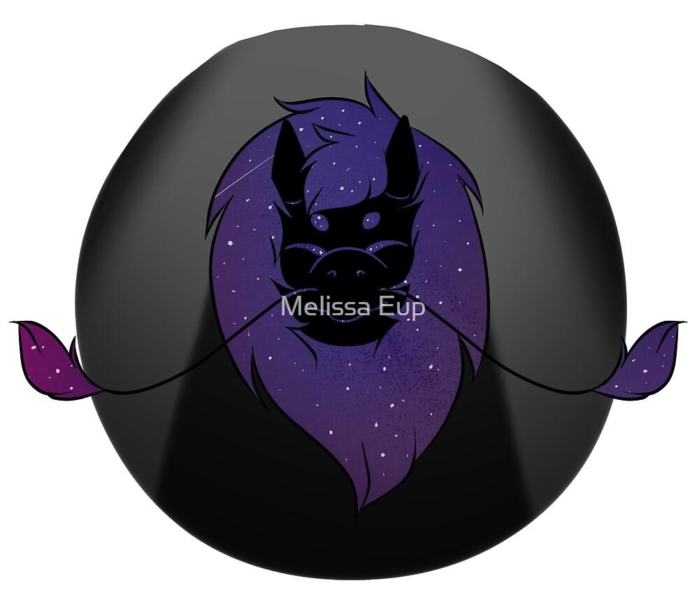Galaxy Dragon by Melissa Eup